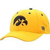 Top of the World Men's Iowa Hawkeyes Gold Triple Threat Adjustable Hat