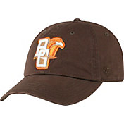 Top of the World Men's Bowling Green Falcons Brown Crew Washed Cotton Adjustable Hat