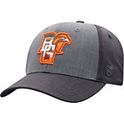 Top of the World Men's Bowling Green Falcons Grey Powertrip 1Fit Flex Hat