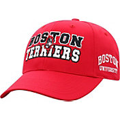 Top of the World Men's Boston Terriers Scarlet Teamwork Adjustable Hat