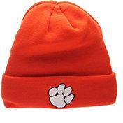 Zephyr Men's Clemson Tigers Orange Cuffed Knit Beanie