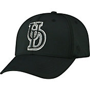 Top of the World Men's Delaware Fightin' Blue Hens Tension 1Fit Flex Black Hat