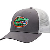 Top of the World Men's Florida Gators Grey/White BB Two-Tone Adjustable Hat