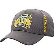 Top of the World Men's George Mason Patriots Grey Booster Plus 1Fit Flex Hat
