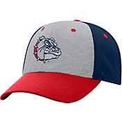Top of the World Men's Gonzaga Bulldogs Grey/Blue/Red Bring It 1Fit Flex Hat