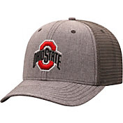 Top of the World Men's Ohio State Buckeyes Grey ATM Adjustable Hat