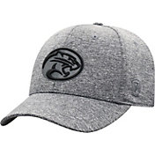 Top of the World Men's Houston Cougars Grey Steam 1Fit Flex Hat