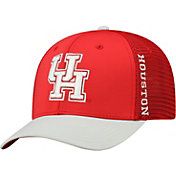 Top of the World Men's Houston Cougars Red Chatter 1Fit Fitted Hat