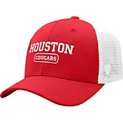 Top of the World Men's Houston Cougars Red Notch Adjustable Snapback Hat