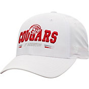 Top of the World Men's Houston Cougars Centralize Aura Adjustable White Hat