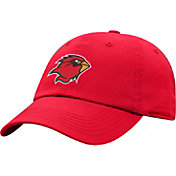 Top of the World Men's Lamar Cardinals Red Crew Washed Cotton Adjustable Hat