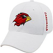 Top of the World Men's Lamar Cardinals Booster Plus 1Fit Flex White Hat