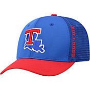 Top of the World Men's Louisiana Tech Bulldogs Blue Chatter 1Fit Fitted Hat