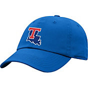 Top of the World Men's Louisiana Tech Bulldogs Red Crew Washed Cotton Adjustable Hat