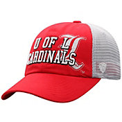 Top of the World Women's Louisville Cardinals Cardinal Red Glitter Cheer Adjustable Hat