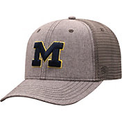 Top of the World Men's Michigan Wolverines Grey ATM Adjustable Hat