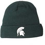 Zephyr Men's Michigan State Spartans Green Cuffed Knit Beanie