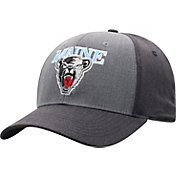 Top of the World Men's Maine Black Bears Grey Powertrip 1Fit Flex Hat