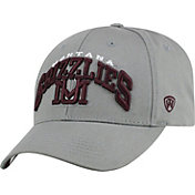 Top of the World Men's Montana Grizzlies Grey Whiz Adjustable Hat