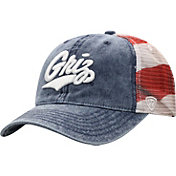 Top of the World Men's Montana Grizzlies Red/White/Blue July Adjustable Hat
