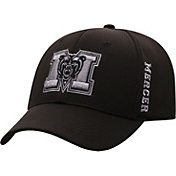 Top of the World Men's Mercer Bears Booster Plus 1Fit Flex Black Hat