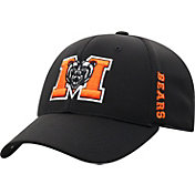Top of the World Men's Mercer Bears Booster Plus 1Fit Flex White Hat