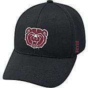 Top of the World Men's Missouri State Bears Booster Plus 1Fit Flex Black Hat