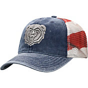 Top of the World Men's Missouri State Bears Red/White/Blue July Adjustable Hat