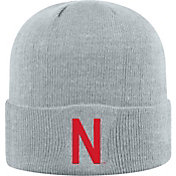 Top of the World Men's Nebraska Cornhuskers Grey Cuff Knit Beanie