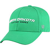 Top of the World Men's North Dakota Fighting Hawks Green Whiz Adjustable Hat