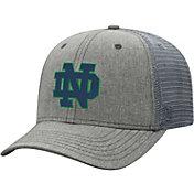 Top of the World Men's Notre Dame Fighting Irish Grey Timeline Adjustable Hat