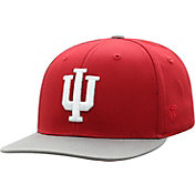 Top of the World Youth Indiana Hoosiers Crimson Maverick Adjustable Hat
