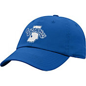 Top of the World Men's Indiana State Sycamores Royal Blue Crew Washed Cotton Adjustable Hat