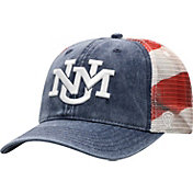 Top of the World Men's New Mexico Lobos Red/White/Blue July Adjustable Hat