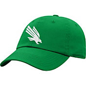 Top of the World Men's North Texas Mean Green Green Crew Washed Cotton Adjustable Hat