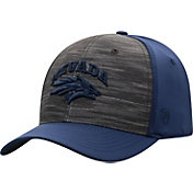 Top of the World Men's Nevada Wolf Pack Grey/Blue Pepper 1Fit Flex Hat