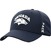 Top of the World Men's Nevada Wolf Pack Blue Booster Plus 1Fit Flex Hat