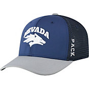 Top of the World Men's Nevada Wolf Pack Blue Chatter 1Fit Fitted Hat