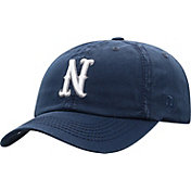 Top of the World Men's Nevada Wolf Pack Blue Crew Washed Cotton Adjustable Hat