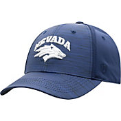 Top of the World Men's Nevada Wolf Pack Blue Intrude 1Fit Flex Hat