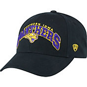 Top of the World Men's Northern Iowa Panthers  Black Whiz Adjustable Hat