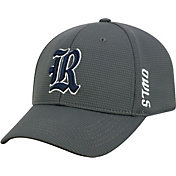 Top of the World Men's Rice Owls Grey Booster Plus 1Fit Flex Hat