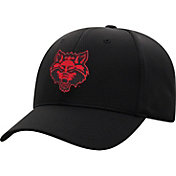 Top of the World Men's Arkansas State Red Wolves Booster Plus 1Fit Flex Black Hat