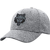 Top of the World Men's Arkansas State Red Wolves Grey Steam 1Fit Flex Hat