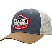 Top of the World Men's Arkansas State Red Wolves Grey Wild Adjustable Hat