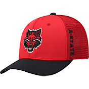 Top of the World Men's Arkansas State Red Wolves Scarlet Chatter 1Fit Fitted Hat