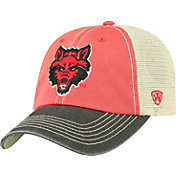 Top of the World Men's Arkansas State Red Wolves Scarlet/White Off Road Adjustable Hat