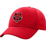 Top of the World Men's Arkansas State Red Wolves Scarlet Premium 1Fit Flex Hat