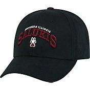 Top of the World Men's Southern Illinois  Salukis Black Whiz Adjustable Hat