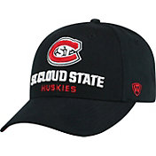 Top of the World Men's St. Cloud State Huskies Black Whiz Adjustable Hat